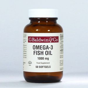 Baldwins Omega-3 Fish Oil Epa & Dha 1000mg