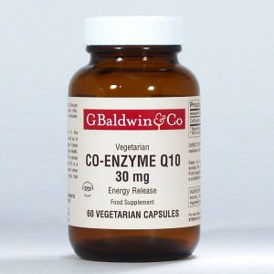 Baldwins Co-enzyme Q10 30mg