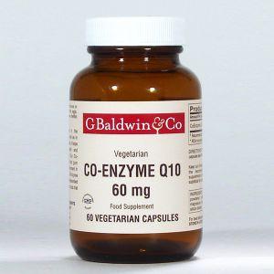 Baldwins Co-enzyme Q10 60mg