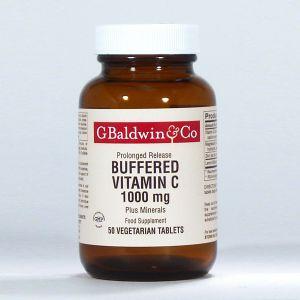 Baldwins Vitamin C Buffered 1000mg