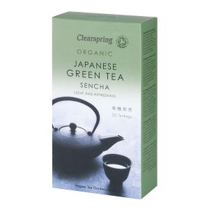 Clearspring Organic Japanese Sencha Green Tea 20 Teabags