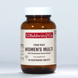Baldwins Women's Advanced Multi (food Rich) 90 Vegetarian Tablets