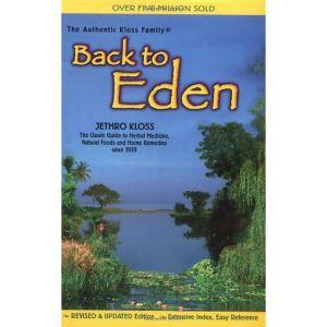 Back To Eden Large Print Paper Back Book