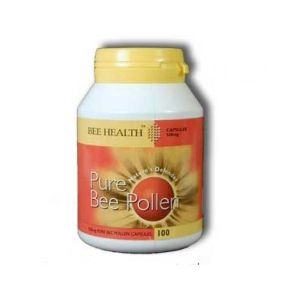 Bee Health Pure Bee Pollen 500mg 100 Capsules