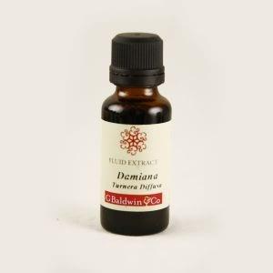 Baldwins Damiana ( Turnera Diffusa ) Herbal Fluid Extract