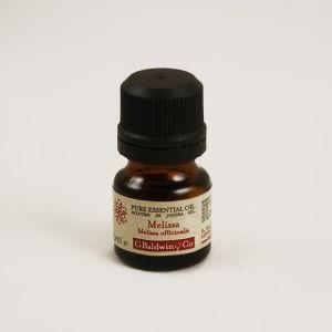 Baldwins Pure Essential Oil Of Melissa (melissa Officinalis) Diluted In Jojoba Oil