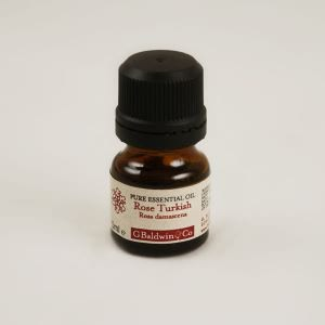 Baldwins Pure Essential Oil Of Rose (rosa Damascena) Otto Diluted In Jojoba Oil