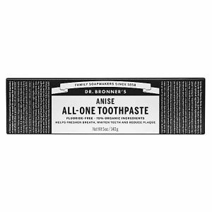 Dr. Bronner's Anise All-One Toothpaste Fluoride-free