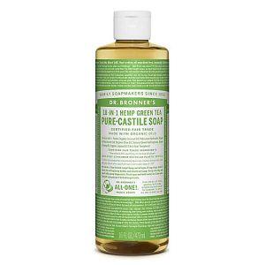 Dr.bronner's 18-in-1 Green Tea Pure Castille Soap 473ml