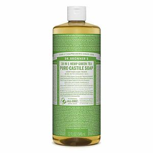 Dr. Bronner's 18-in-1 Green Tea Pure Castille Soap 946ml