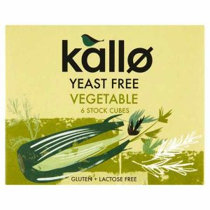 Kallo Yeast Free Vegetable Stock Cubes 66g
