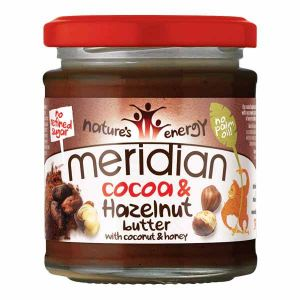 Meridian Cocoa & Hazelnut Butter With Coconut and Honey No Palm Oil 170g