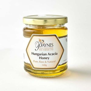 Paul Paynes Hungarian Acacia Honey (clear) 340g