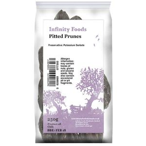 Infinity Foods Non-organic Pitted Prunes