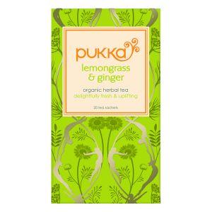 Pukka Lemongrass & Ginger Tea (20 Sachets)