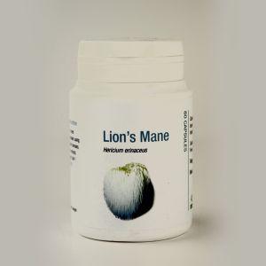 Hericium ( Lion's Mane ) Mushroom Supplement 500mg 60 Capsules