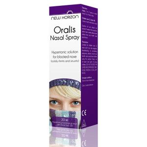 New Horizon Oralis Nasal Spray 20mls