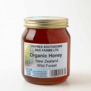 Paul Paynes Organic New Zealand Wild Forest (clear) Honey 340g