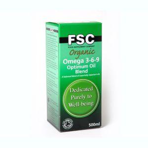 Fsc Organic Omega Oil Blend 3-6-9 500ml