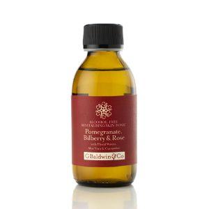 Pomegranate, Bilberry & Rose Alcohol-free Revitalising Skin Tonic 150ml