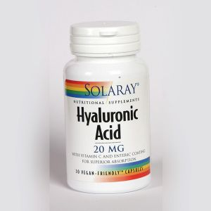 Solaray Hyaluronic Acid 20mg 30 Vegecaps
