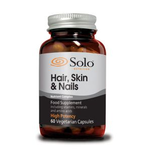 Solo Hair Skin And Nails Complex 60 Vegecaps