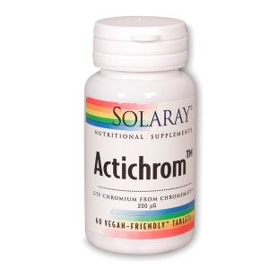 Solaray Actichrom 60 Tablets