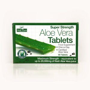 Aloepura Aloe Vera 60 Super Strength One A Day Tablets