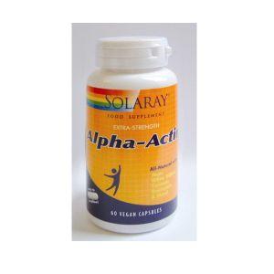 Solaray Alpha Actin 60 Capsules