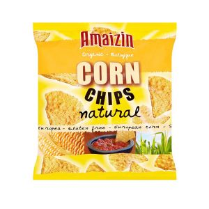 Amaizin Corn Chips Natural 75g