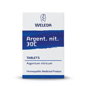 Weleda Homeopathic Argent Nit 125 Tablets 30c