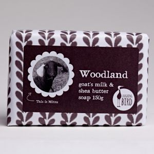 Laughing Bird Woodland Soap (with Shea Butter & Goat's Milk) 150g