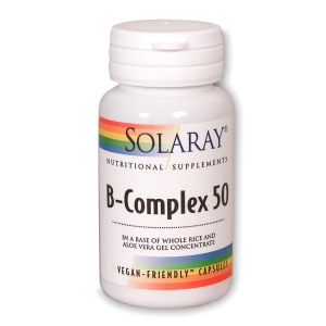Solaray B-complex 50 60vegecaps