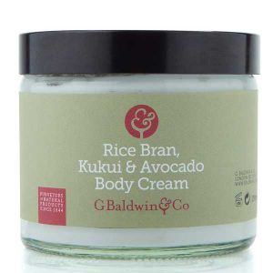 Baldwins Rice Bran, Kukui & Avocado Body Cream 200ml