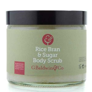 Baldwins Bamboo, Rice Bran & Sugar Body Scrub 250g