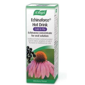 A Vogel Echinaforce Hot Drink Elderberry Flavour 100ml