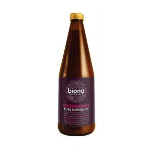 Biona Pure Organic Cranberry Juice 750ml
