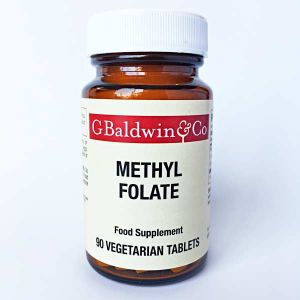 Baldwins Methyl Folate 90 Vegetarian Tablets