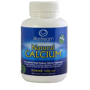 Lifestream Natural Calcium 100g Powder