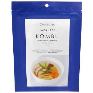 Clearspring Japanese Kombu Dried Sea Vegetable 50g