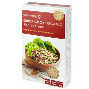 Clearspring Quick Cook Organic Rice & Quinoa 250g
