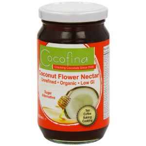Cocofina Unrefined Organic Coconut Flower Nectar 350ml