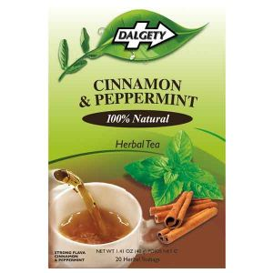 Dalgety Cinnamon & Peppermint 18 Herbal Tea Bags