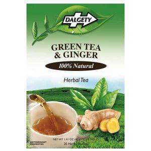 Dalgety Green Tea & Ginger 20 Herbal Tea Bags