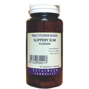 D. Atkinson Herbalist Slippery Elm Bark Capsules