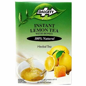 Dalgety Instant Lemon Tea With Honey 18 Tea Bags