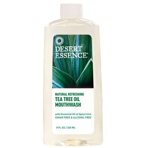Desert Essence Alcohol Free Tea Tree Mouthwash 240ml
