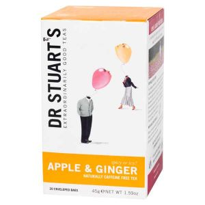 Dr Stuarts Apple And Ginger Tea (15 Tea Bags)