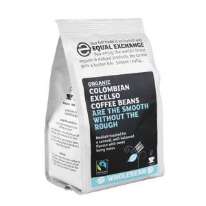 Equal Exchange Organic Colombian Excelso Coffee Beans 227g