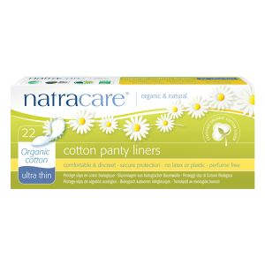 Natracare Organic Cotton Panty Liners Ultra Thin x 22